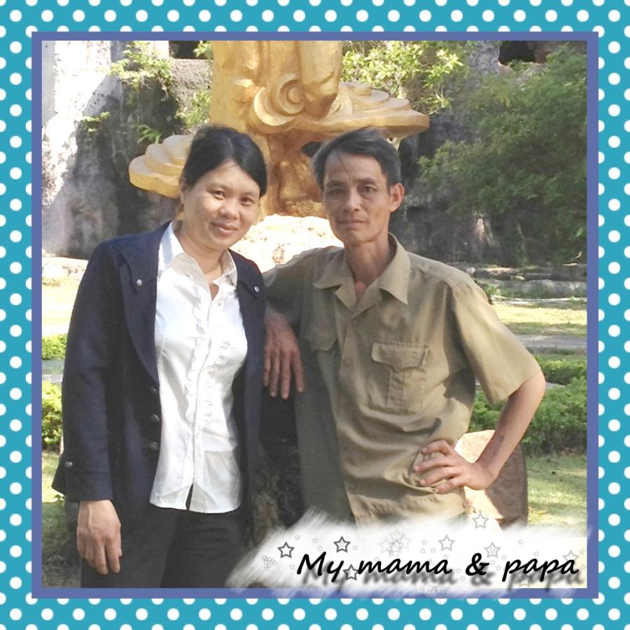 My papa & Mama